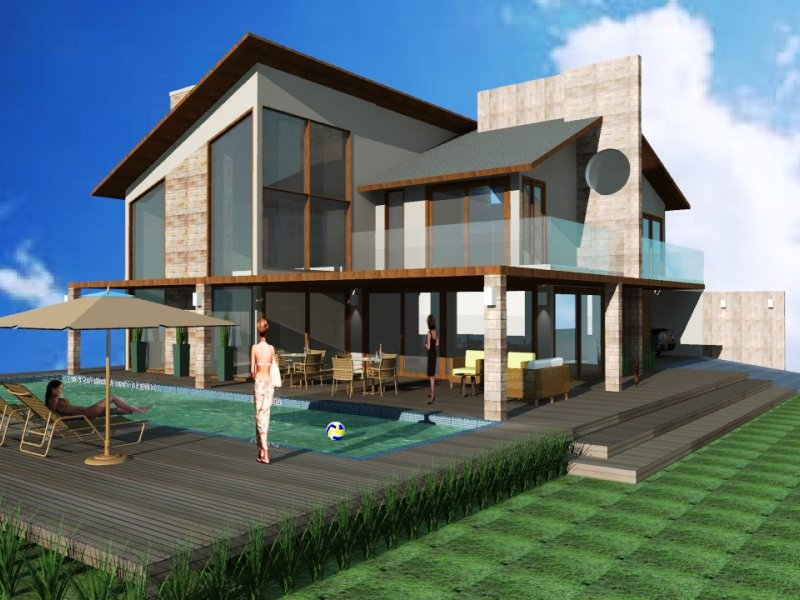 Projeto Casa Fazenda