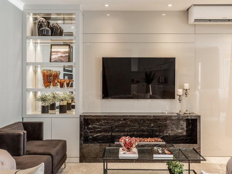 Apartamento Clássico com pitadas modernas