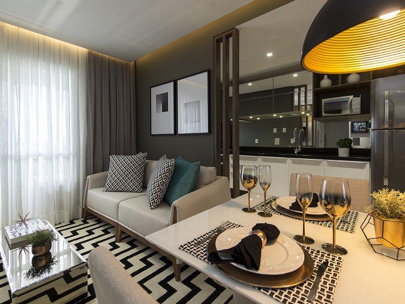 Apartamento Decorado 4 estilos